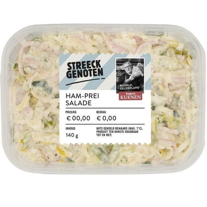 Streeckgenoten Ham-prei salade (140g)
