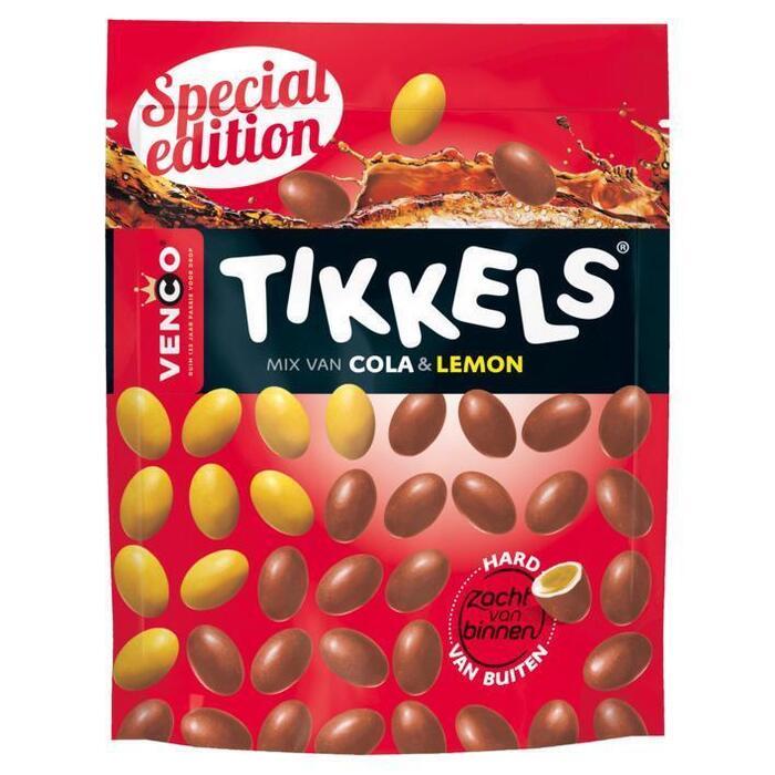 Tikkels Cola & Lemon (Zak, 230g)
