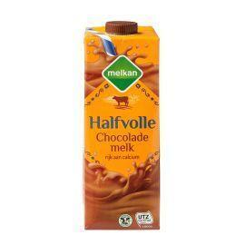 Chocolademelk halfvol (drankkarton, 1L)