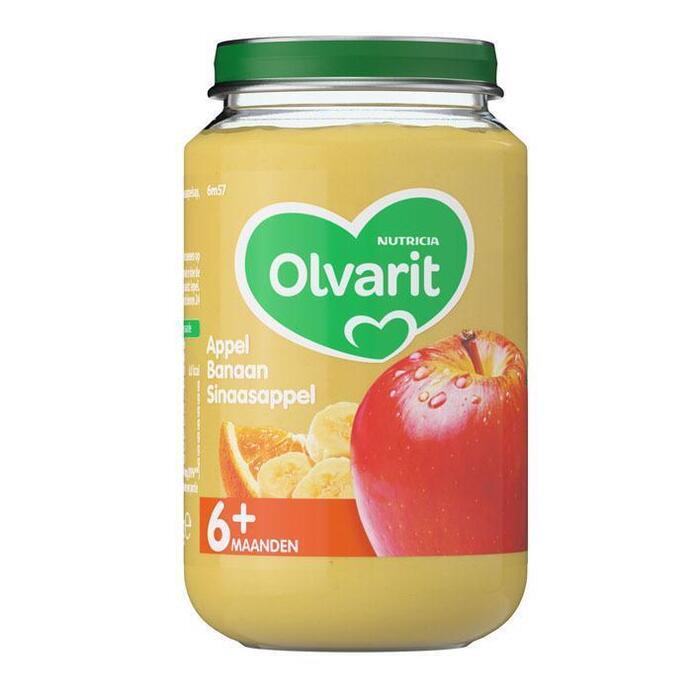 Appel banaan sinaasappel 6 mnd (Stuk, 200g)