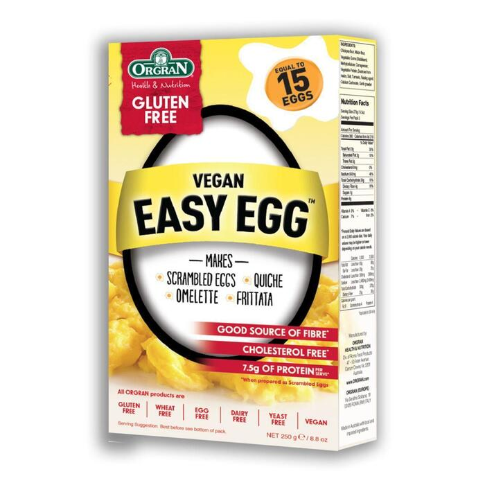 Ogran Glutenvrije Eivervanger Veganistisch 250g (250g)