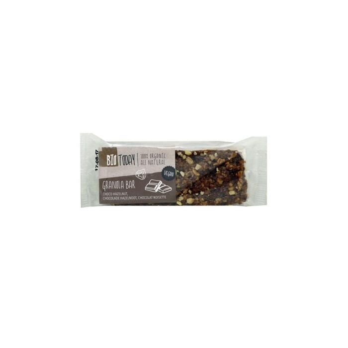Bio Today Granolareep chocolade & hazelnoot (50g)