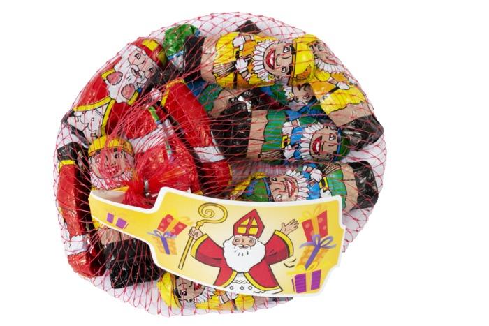 Sinterklaasfiguren (zak, 100g)