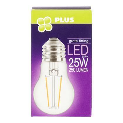 Lamp LED 25W Kogel grote fit helder