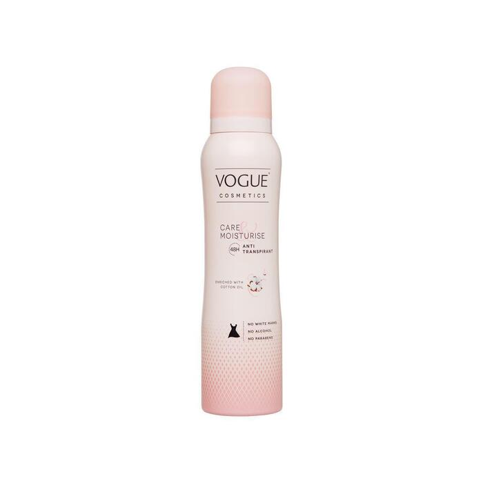 VOGUE Cosmetics Anti-Transpirant Deodorant Care & Moisturise (150ml)