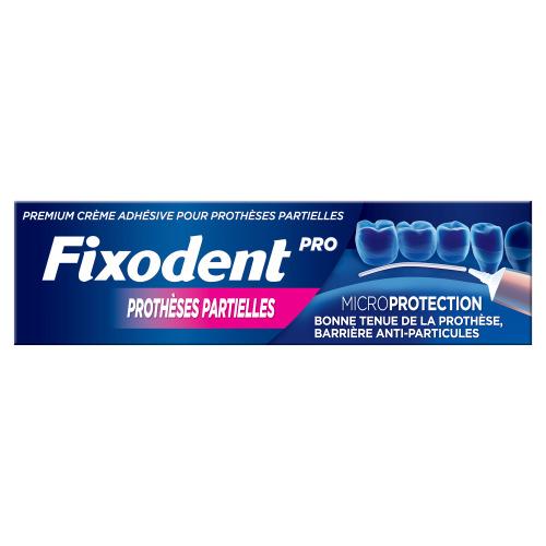 Fixodent Pro Microseal Voor Gedeeltelijke Gebitsprothesen, Premium Kleefpasta 40ml