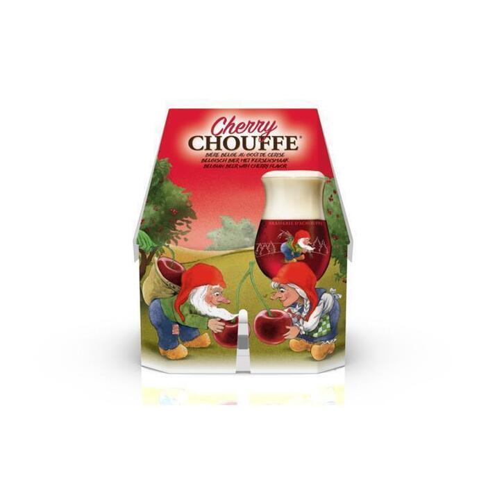 La Chouffe Cherry 4-pak (rol, 4 × 33cl)