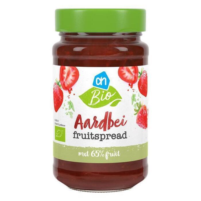AH Biologisch Aardbei fruitspread (250g)