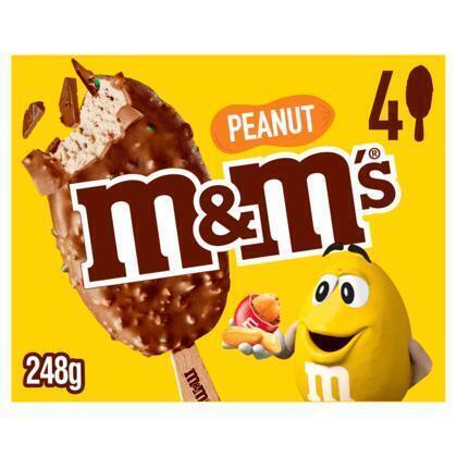 M&M's Peanut handijs (4 × 82ml)