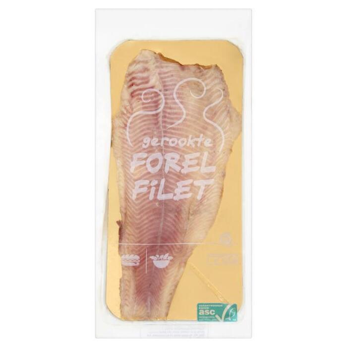 Forel filet gerookt (zak, 125g)
