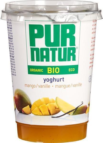Yoghurt+Fruit Mango-Vanille (500g)