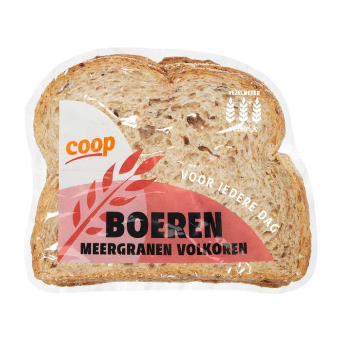 Coop Half meergranenbrood (400g)