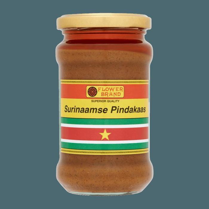 Flower Brand Surinaamse Pindakaas 300g (300g)