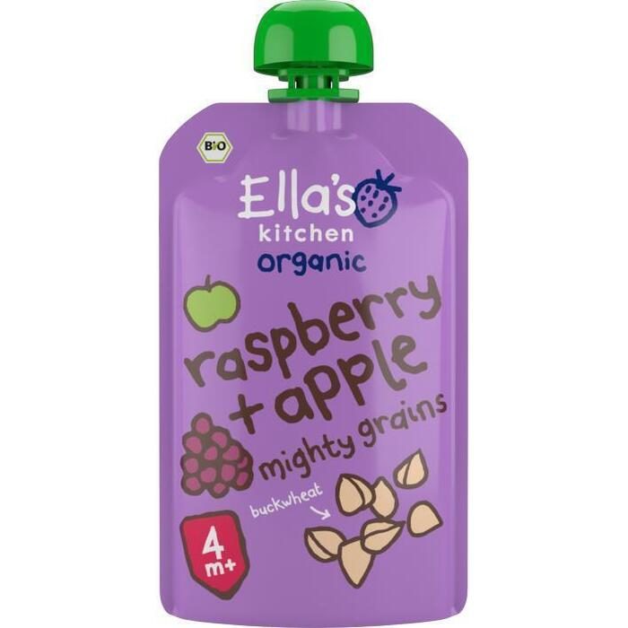 Ella's Kitchen Raspberry apple + Buckwheat 4+ bio (120g)