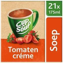 UNOX CUP-A-SOUP TOMATEN CRÈME 21 ZAKJES (bak, 21 × 336g)
