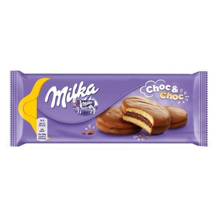 Biscuit choc & choc (wikkel, 175g)