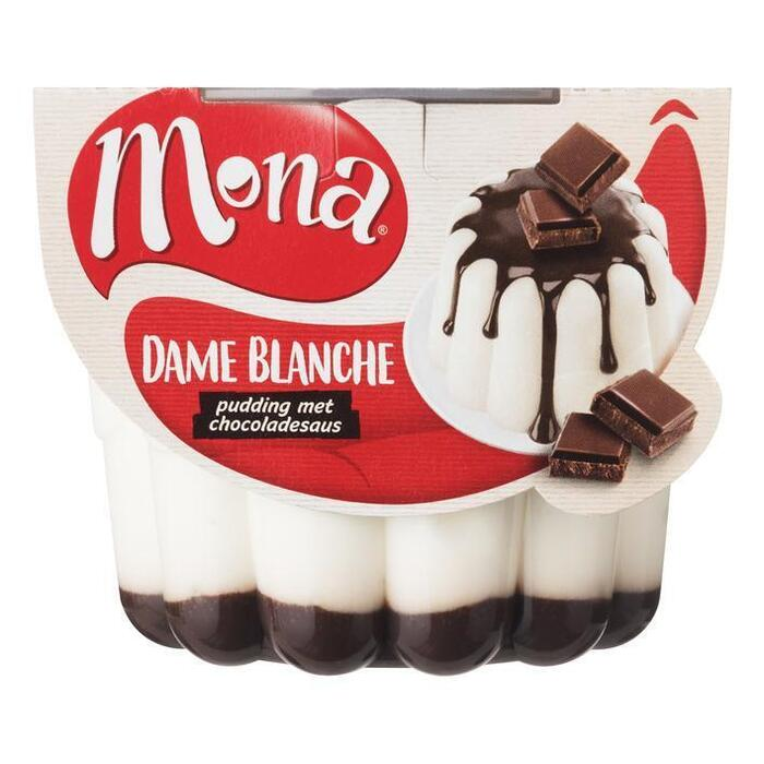 Luchtige Dame Blanche pudding (bak, 45cl)
