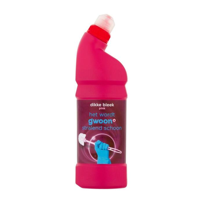 g'woon Dikke bleek pink (0.75L)