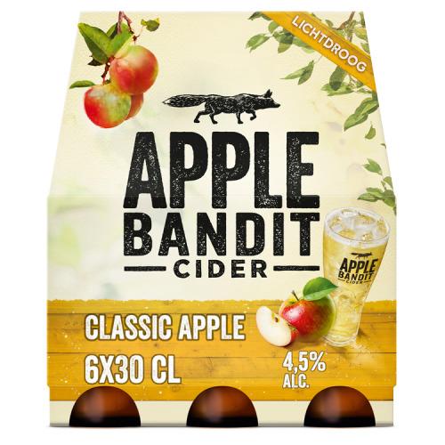 Classic Apple Cider Fles 30 cl (rol, 6 × 30cl)