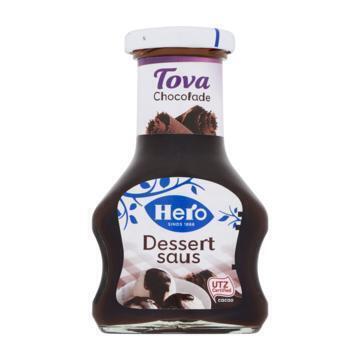 Tova dessertsaus chocolade (Stuk, 125ml)