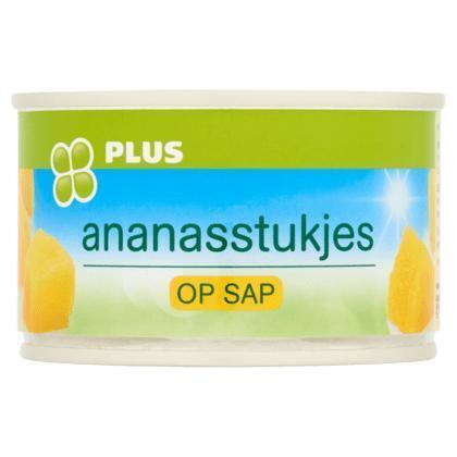 Ananasstukjes op siroop (blik, 227g)