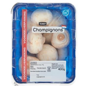 Jumbo Champignons Voordeelverpakking 400 g (400g)