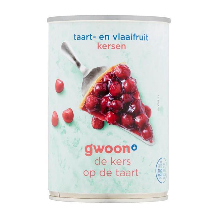 g'woon Vlaaifruit kersen (430g)