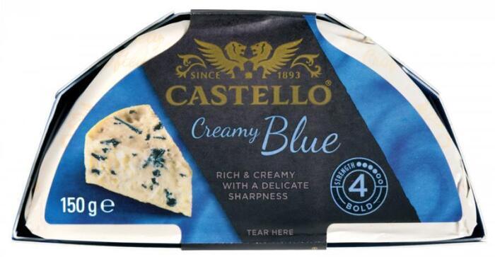 Creamy blue (Stuk, 150g)