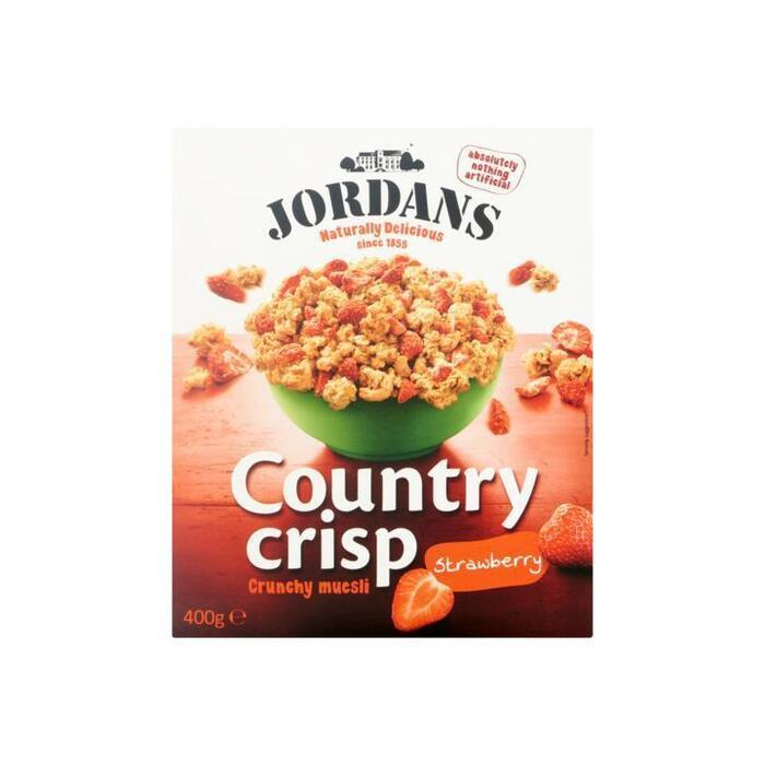 Jordans Country Crisp Crunchy Muesli Strawberry 400g (400g)