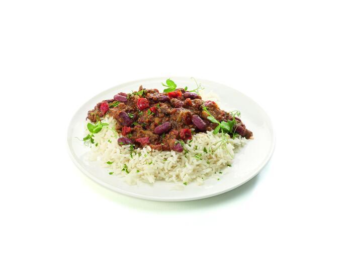 Vers Aan Tafel Chili Con Carne met Gehakt en Rijst 500 g (480g)