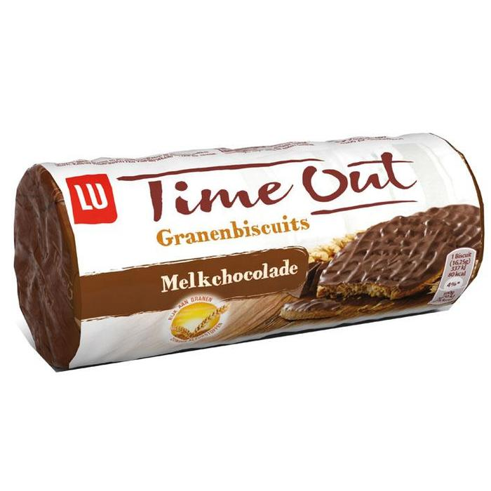 Time Out Rollpacks chocolade (244g)