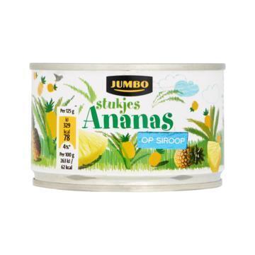 Ananas Stukjes op Siroop (blik, 227g)