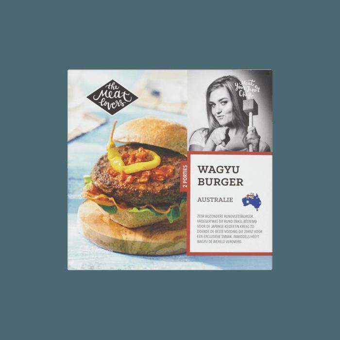 Wagyu Burger Australie (doos, 250g)