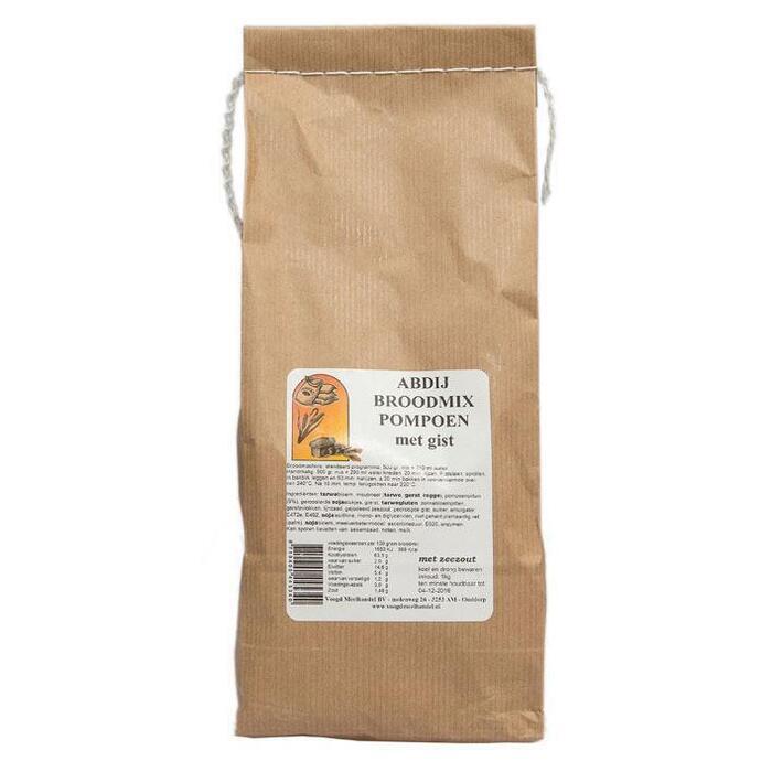 Abdij Broodmix pompoen (1kg)