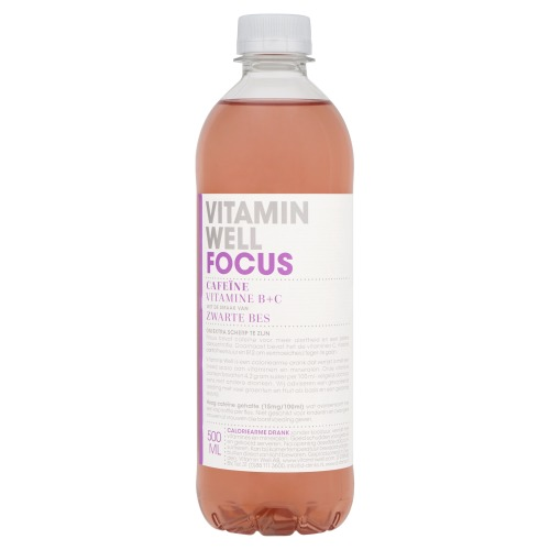 Focus zwarte bes (pet, 0.5L)