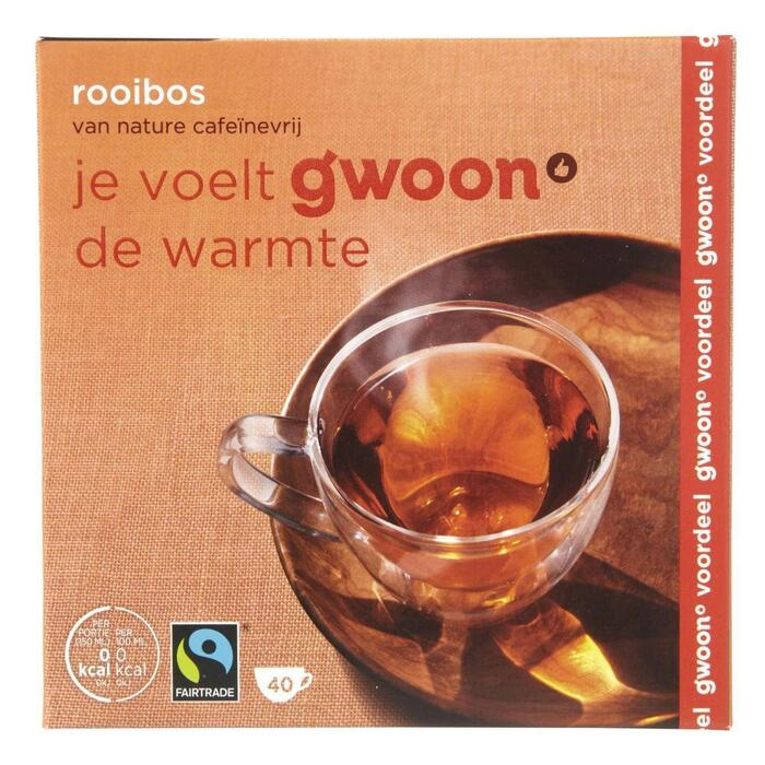 g'woon Rooibos thee (60g)