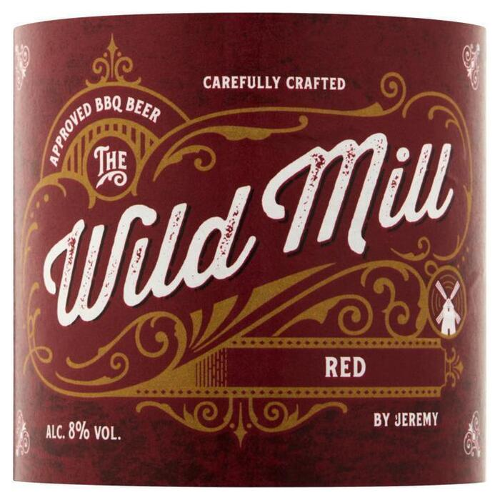 The Wild Mill Red by Jeremy 33 cl (rol, 33 × 33cl)