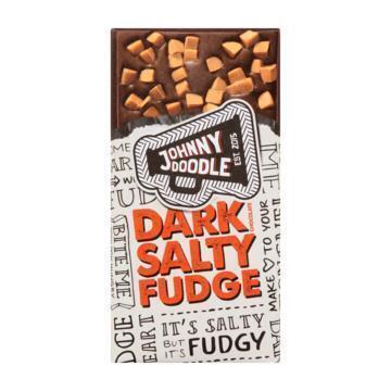 Johnny Doodle Dark salty fudge (150g)