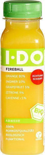 Fruitsap fireball (250ml)