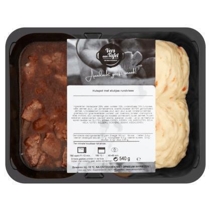 Vers Aan Tafel Hutspot met Stukjes Rundvlees 540 g (600g)
