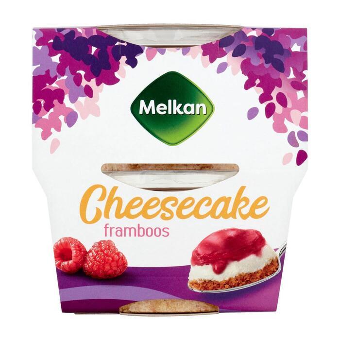 Melkan cheesecake framboos (200g)
