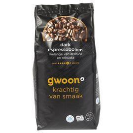 g'woon Espressobonen dark (500g)