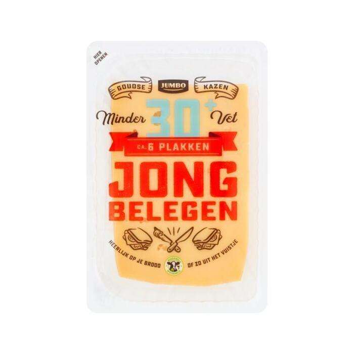 Jumbo Jong Belegen 30+ Plakken 190 g (190g)