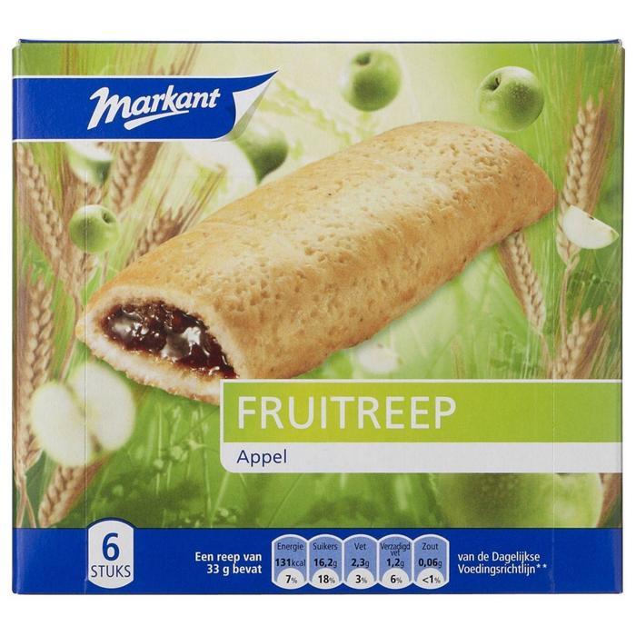 Markant fruitreep appel 200 gr. (200g)
