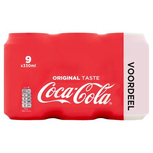 Coca-Cola 9 x 330ml (12 × 250ml)