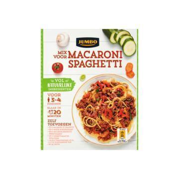 Jumbo Mix voor Macaroni Spaghetti 55 g (55g)