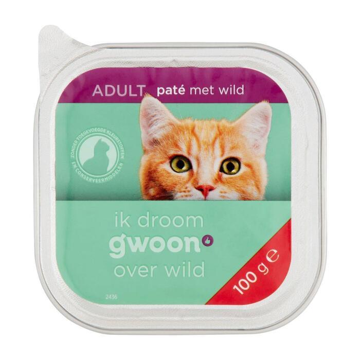 g'woon Pate kat met wild (100g)