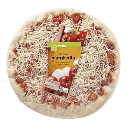 Pizza Margherita duo (pak, 550g)