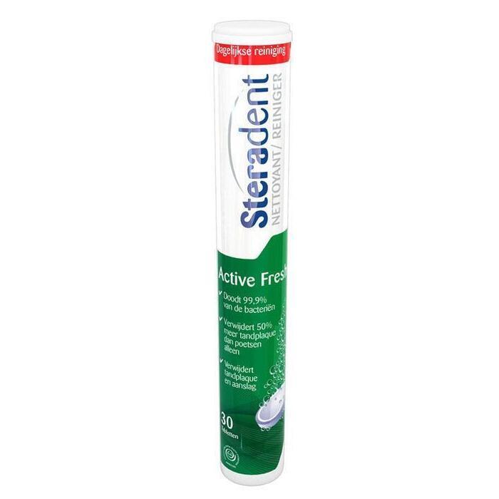 Bruistablet active fresh (tabletten)