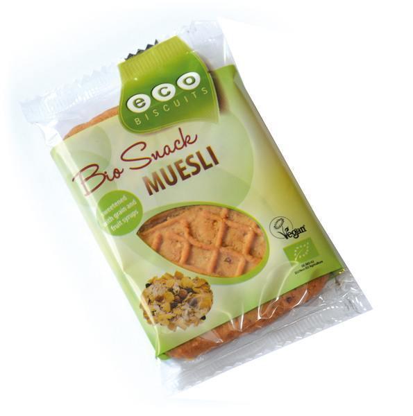 Bio snack mueslikoek per stuk (45g)